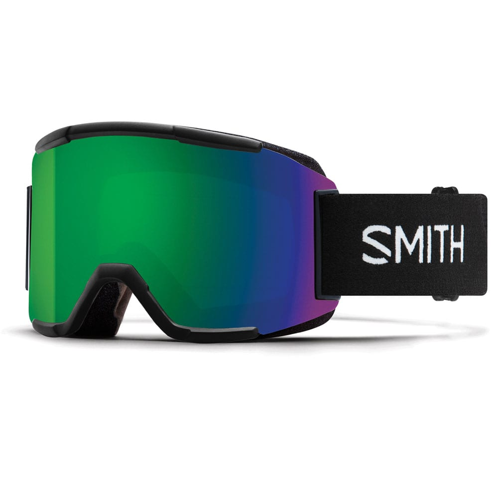 Smith Squad Snowboardbille Chromapop Black/Sun Green Mirror