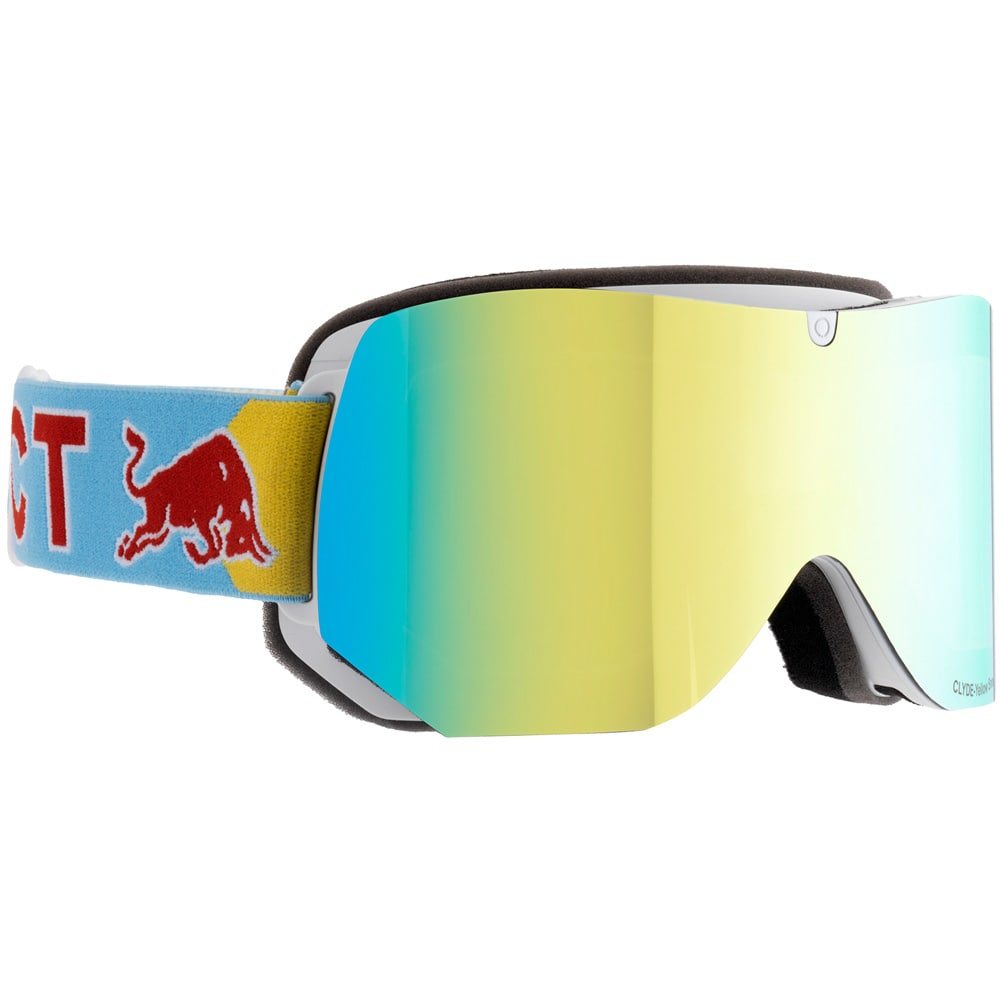 Spect Eyewear Red Bull Goggle Schneebrille Clyde White/Yellow Snow