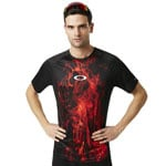 Oakley MTB Short Sleeve Tech Tee Flames