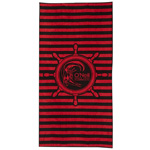 ONeill AC Sand Castle Towel Badetuch Black/Red
