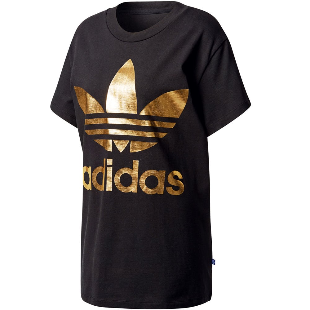 adidas t shirt damen gold
