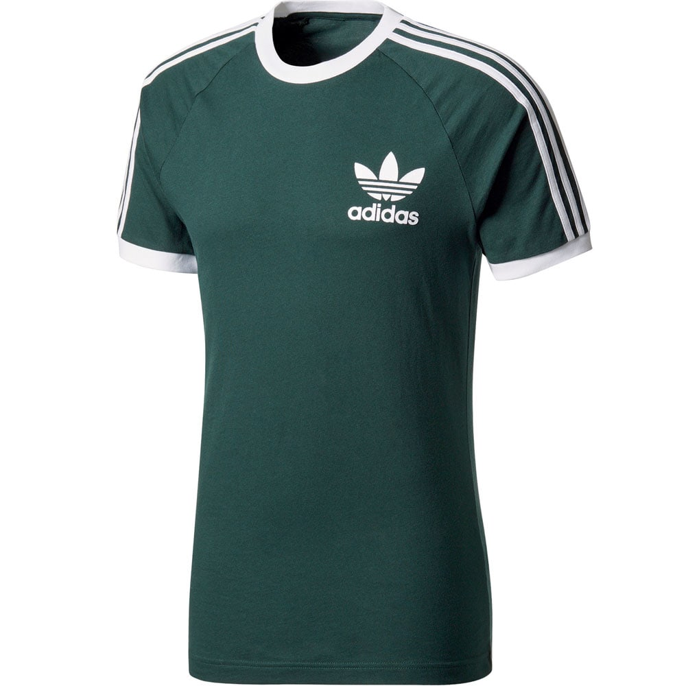 adidas Originals California Tee Herren-Shirt Green Night