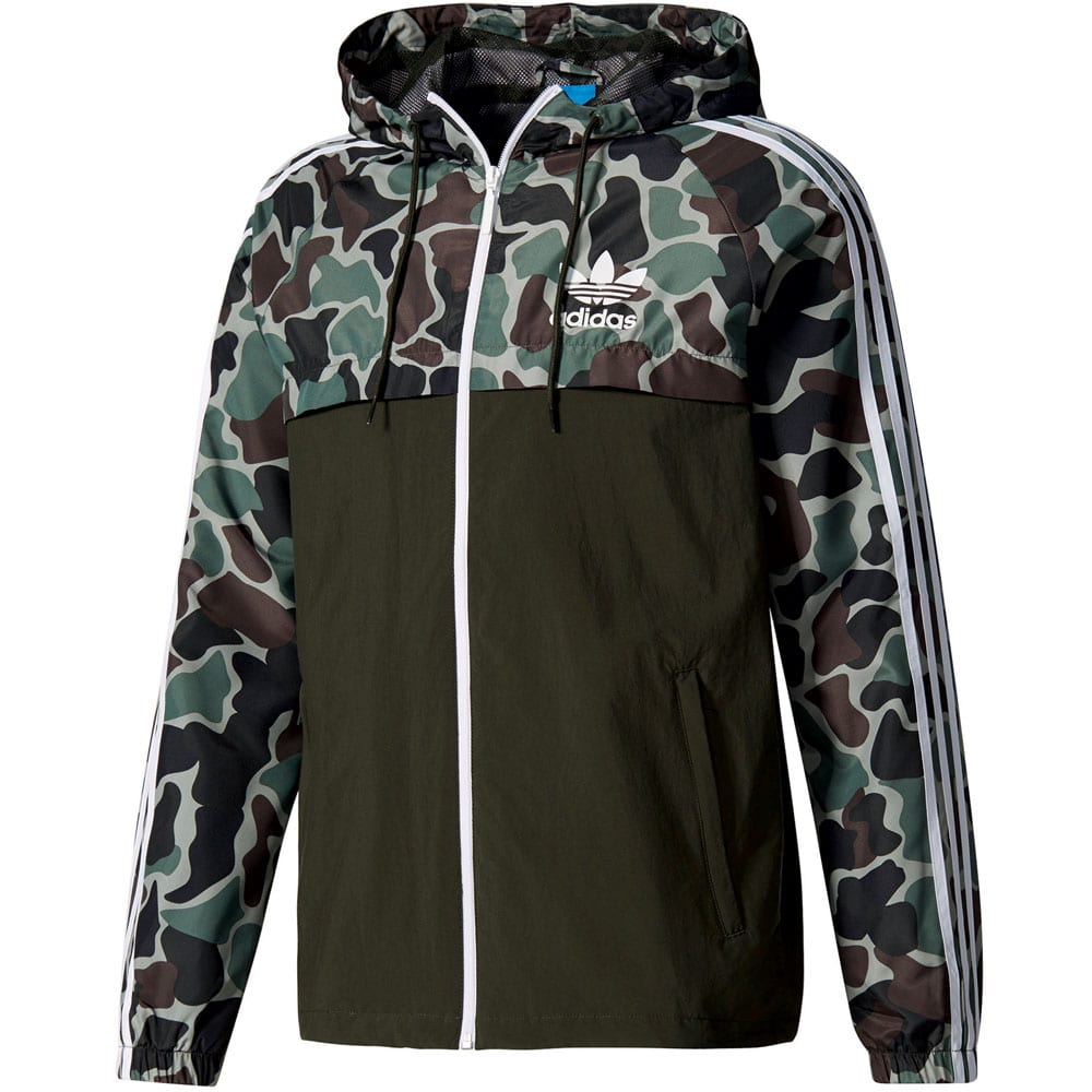 adidas originals camo revenergy windbreaker herren jacke. Black Bedroom Furniture Sets. Home Design Ideas