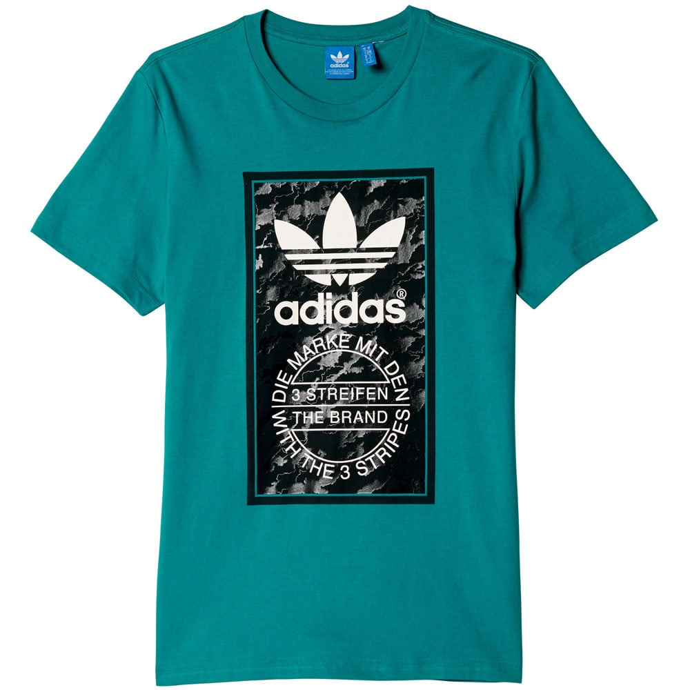 adidas Originals Camo Tongue Label Tee T Shirt 2016