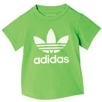 adidas Originals Infant Trefoil I Color Tee Kleinkinder-Shirt Green