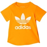 adidas Originals Trefoil I Color Tee Kleinkinder-Shirt  Semi Solar