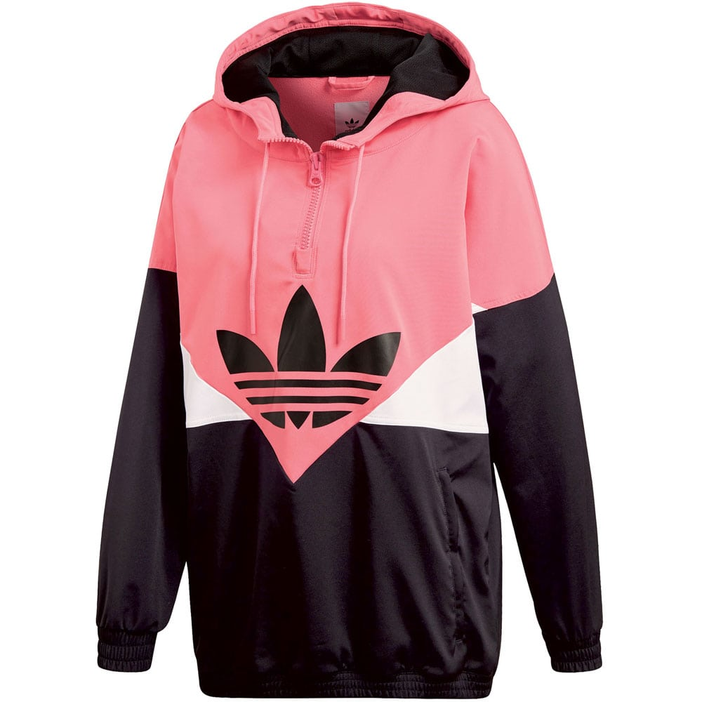 adidas originals colorado windbreaker damen jacke black chalk pink fun sport vision. Black Bedroom Furniture Sets. Home Design Ideas
