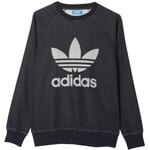 adidas Originals French Terry Crew Herren-Sweatshirt Rinse Denim