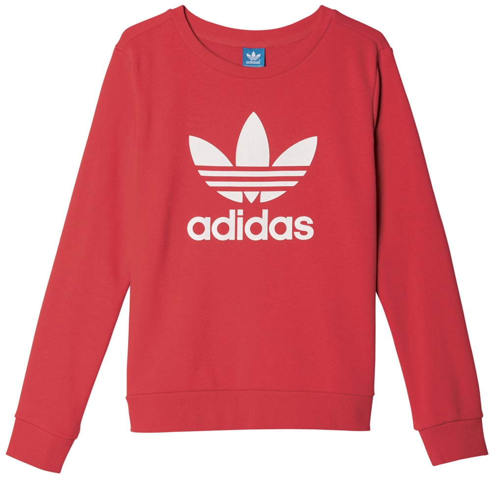 Roter Adidas Pullover