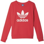 adidas Originals Crew Sweater Damen-Pullover Vivid Red