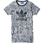 adidas Originals Farm Tee Dress Damen-Kleid AB1996 Multicolor