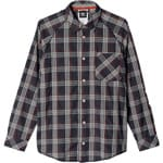 adidas Originals Easy-Breeze Plaid Button Up Freizeithemd Black/Chili
