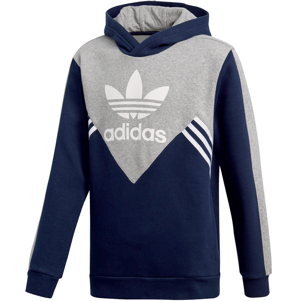 adidas Originals Fleece Kinder-Hoody Navy/Grey