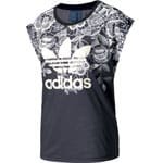 adidas Originals Florido Tee Damen-Shirt Multicolor