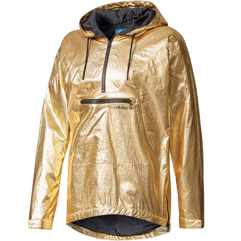 adidas originals fontanka jacket herren jacke gold metallic fun sport vision. Black Bedroom Furniture Sets. Home Design Ideas