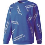 adidas Originals New York City Graffiti Crew Herren-Sweatshirt Blue