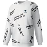 adidas Originals New York City Graffiti Crew Herren-Sweatshirt White