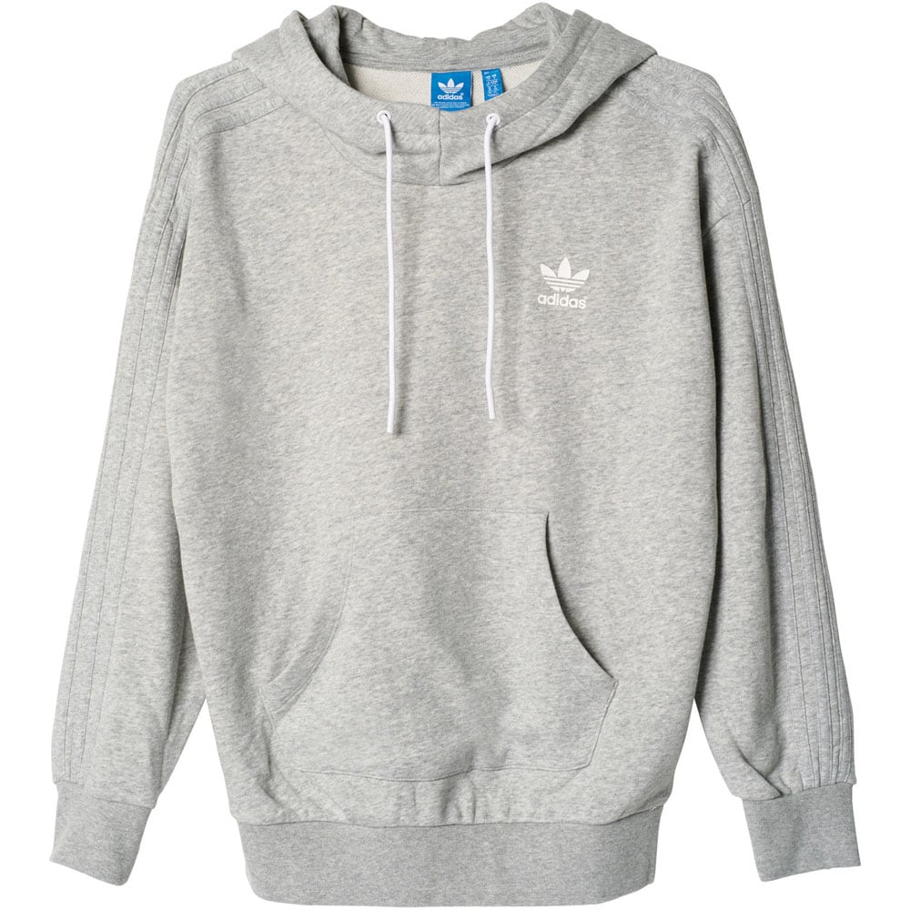 adidas originals hoody damen kapuzenpullover french bulldog grey online kaufen. Black Bedroom Furniture Sets. Home Design Ideas
