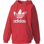 adidas Originals Trefoil Logo Damen-Hoody Core Red