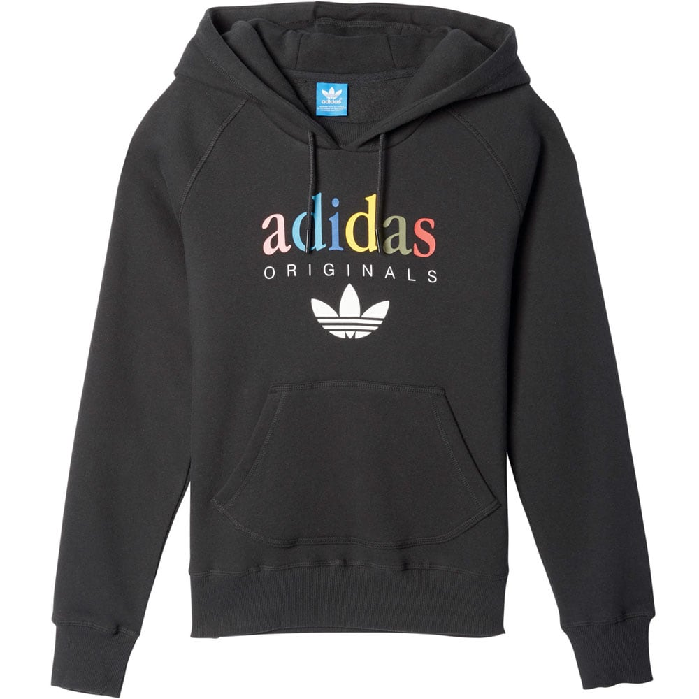 adidas originals hoodie damen kapuzenpullover black fun. Black Bedroom Furniture Sets. Home Design Ideas