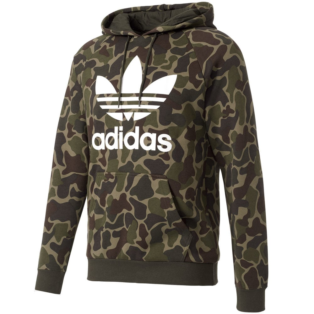 adidas originals trefoil camo hoody herren pullover. Black Bedroom Furniture Sets. Home Design Ideas