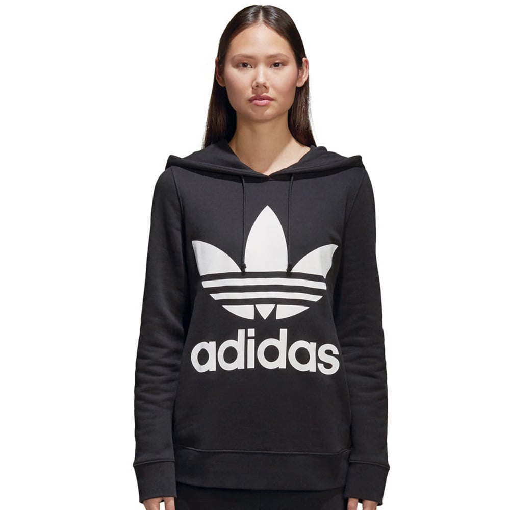 adidas Originals Trefoil Damen-Hoody Black