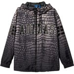 Adidas NY Printed Damen Windbreaker - Black/Dust Sand