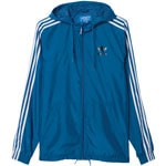 adidas Originals Itasca Windbreaker Herren-Trainingsjacke Blue