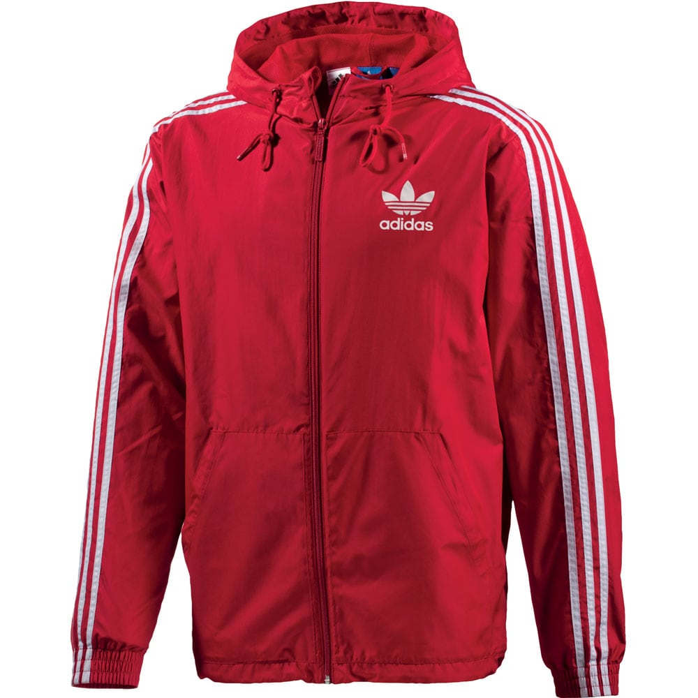 adidas originals itasca windbreaker herren trainingsjacke scarlet fun sport vision. Black Bedroom Furniture Sets. Home Design Ideas