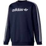 adidas Originals Linear Crew Herren-Sweatshirt Legend Ink
