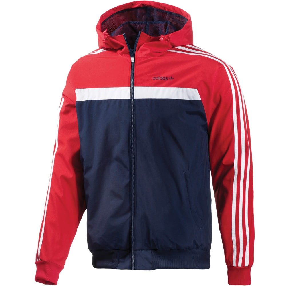 adidas marathon 83 herren windbreaker s18749 red fun. Black Bedroom Furniture Sets. Home Design Ideas