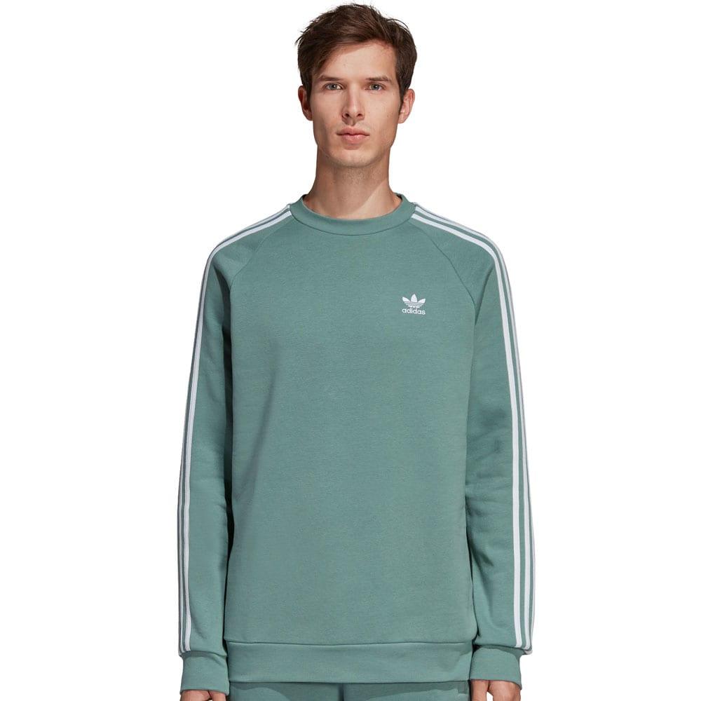 adidas Originals 3-Stripes Crew Vapour Steel