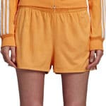 adidas Originals 3-Stripes Short Damen-Hose Chalk Orange