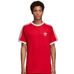 adidas Originals 3-Stripes Tee Herren-Shirt Power REd