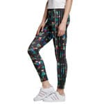 adidas Originals Floral All Over Print Tights Multicolor
