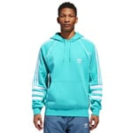 adidas Originals Authentic Hoody Herren-Kapuzenpullove Hi-Res Aqua