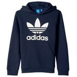 adidas Originals Trefoil Kinder-Hoodie Legend Ink/White