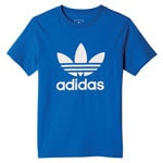 adidas Originals Trefoil Tee Kinder-Shirt Blue/White