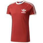adidas Originals California Tee Herren-Shirt Mystery Red