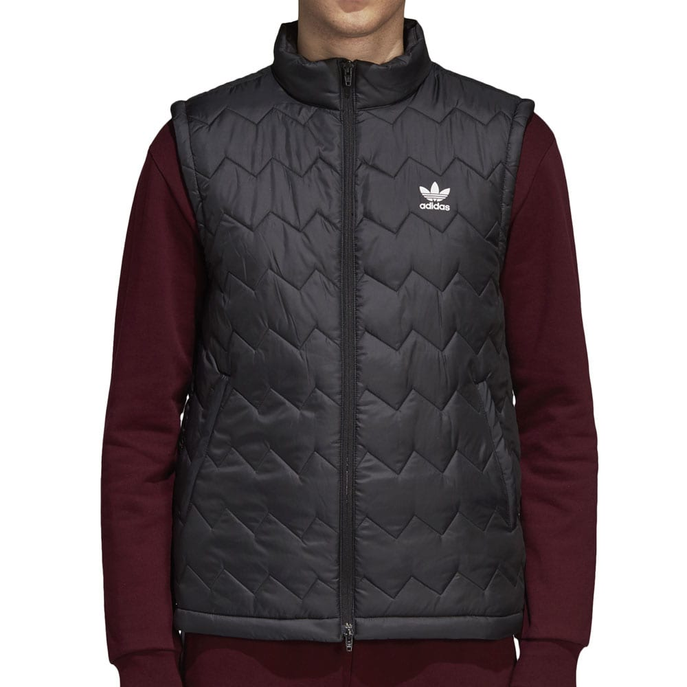 adidas Originals SST Puffy Vest Herren-Weste Black