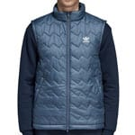 adidas Originals SST Puffy Vest Herren-Weste Tech Ink