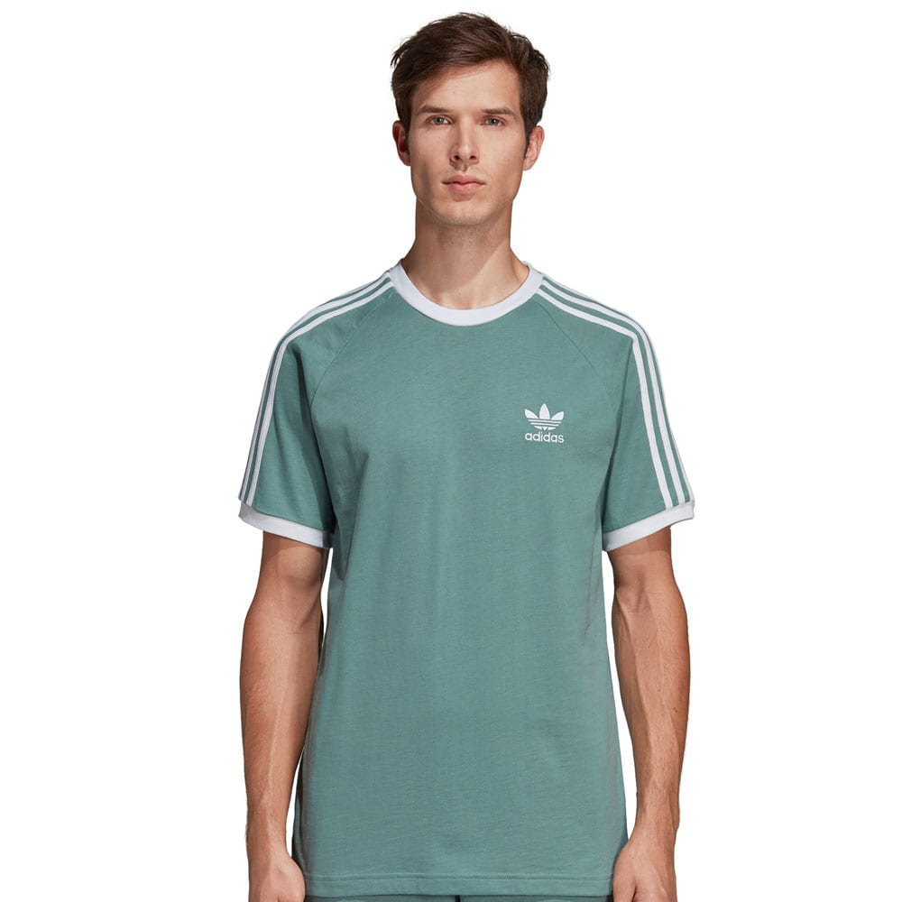 adidas Originals 3-Stripes Tee Herren-Shirt Vapour Steel