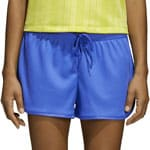 adidas Originals Fashion League Rib Damen-Short Hi-Res Blue