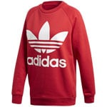 adidas Originals Oversized Sweat Damen-Sweatshirt Real Red