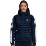 adidas Originals Slim Jacket Damen-Winterjacke Collegiate Navy