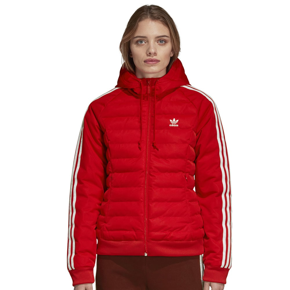 adidas Originals Slim Jacket Damen Winterjacke Real Red