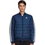 adidas Originals SST Superstar Quilted Herren-Winterjacke Navy