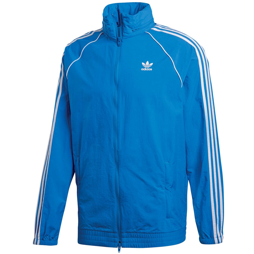 adidas Originals Superstar Windbreaker Herren-Jacke Bluebird