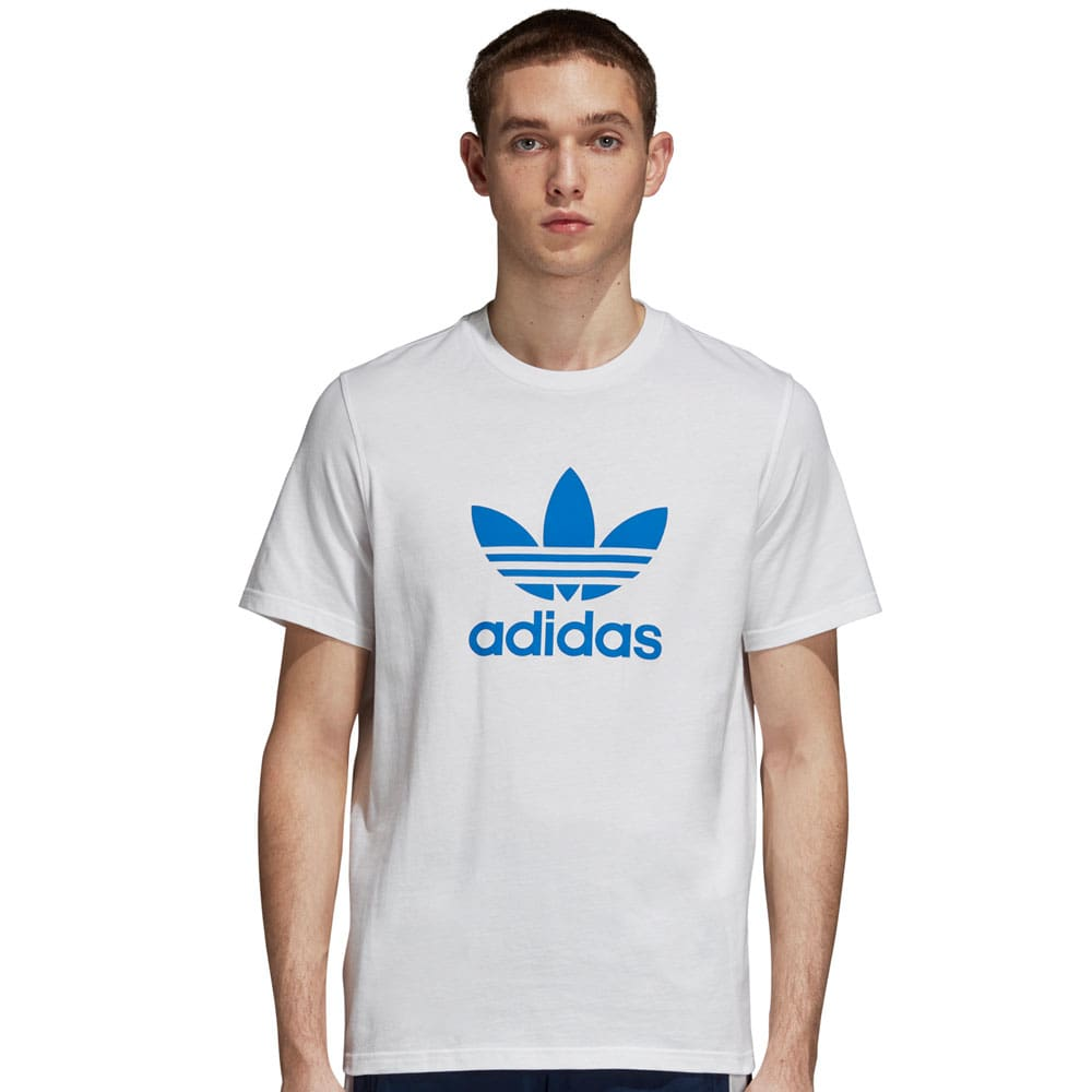adidas Originals Trefoil Herren T-Shirt White/Bluebird