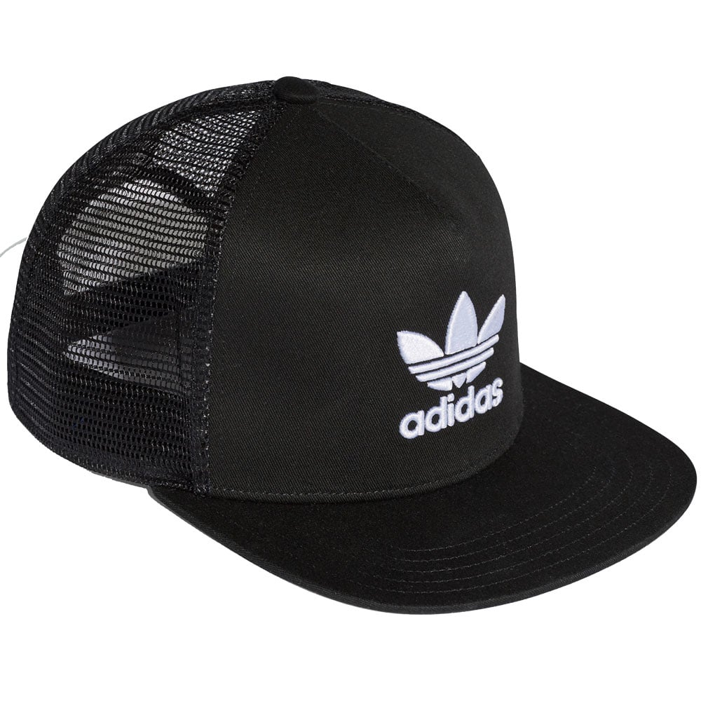 adidas Originals Trefoil Trucker Cap Black/White